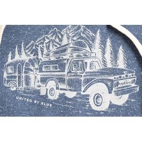 United By Blue Truck & Camper Hooded Pullover Herren orion blue